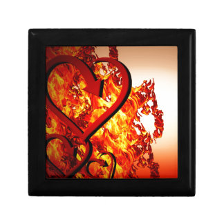 Hearts on fire small square gift box