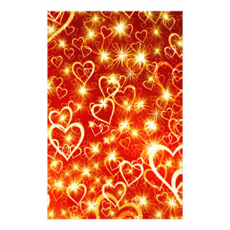 Hearts On Fire Stationery