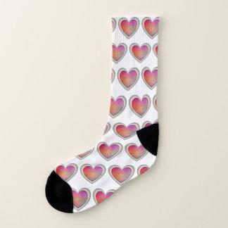 Hearts on My Socks 1