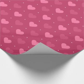 Hearts Pattern Pink & Red (Love & Valentine)