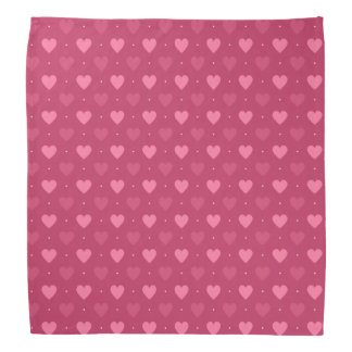 Hearts Pattern Pink & Red (Love & Valentine) Do-rag