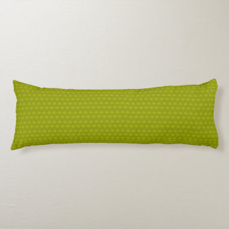 Hearts Pattern-Two Tone/Lime Green Body Cushion