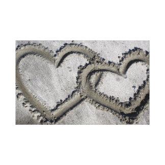 Hearts Photo Canvas