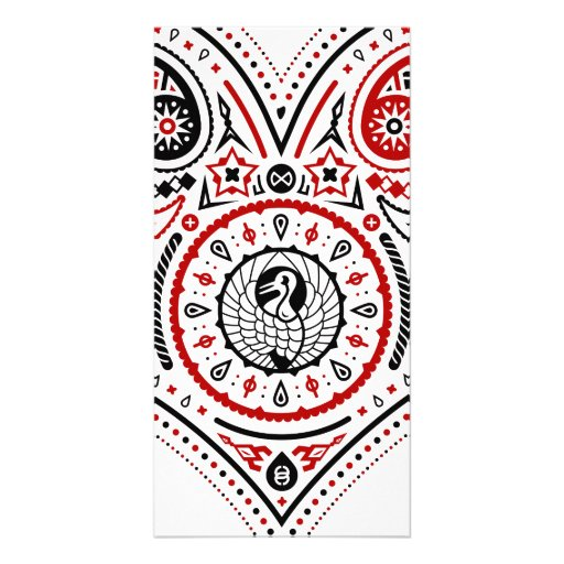 Hearts - Photocard (White/Red/Black) Picture Card