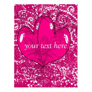 Hearts - postcards