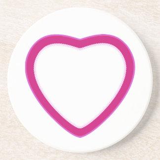 Hearts & Roses X's & O's Coaster
