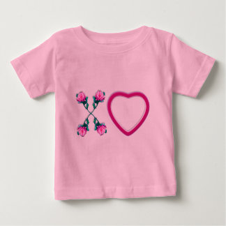 Hearts & Roses X's & O's Infants T-shirt