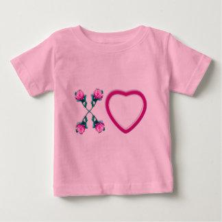 Hearts & Roses X's & O's Infants T-shirt