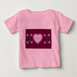 Hearts & Roses X's & O's Photo Frame Infants Tee