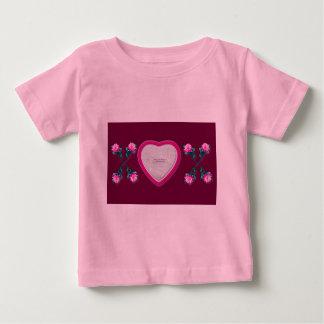 Hearts & Roses X's & O's Photo Frame Infants Tee