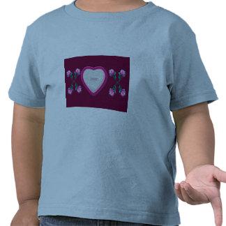 Hearts & Roses X's & O's Photo Frame Tee Shirts