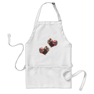 Hearts Scottie Dogs Aprons