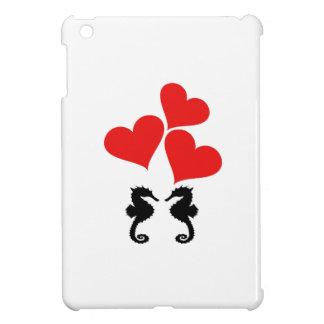Hearts & Seahorse iPad Mini Cover