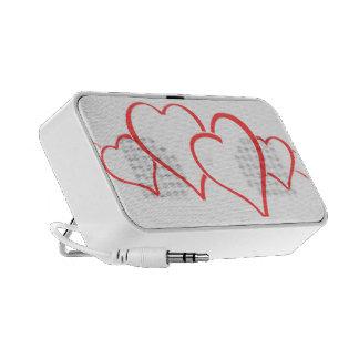 Hearts iPod Speaker