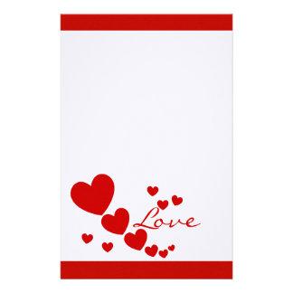 Hearts Stationery
