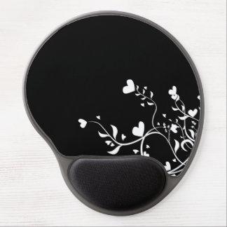 Hearts & Swirls Gel Mousepad