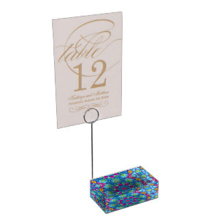 Hearts Table Card Holders