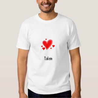 hearts, Taken Tee Shirts