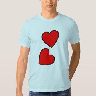 Hearts Tees