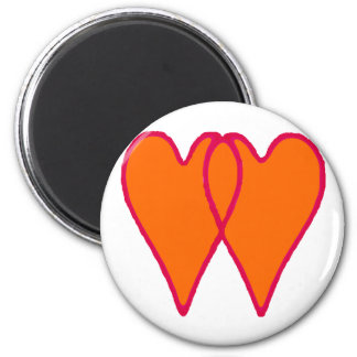 Hearts Together The MUSEUM Zazzle Gifts Refrigerator Magnets