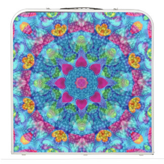 "Hearts Vintage Kaleidoscope 48""   Beer Pong Table"
