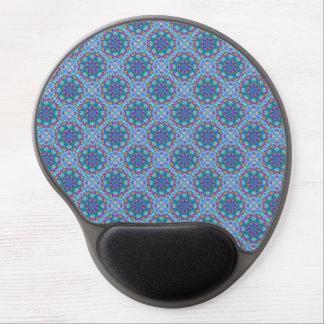 Hearts Vintage Kaleidoscope   Gel Mousepad