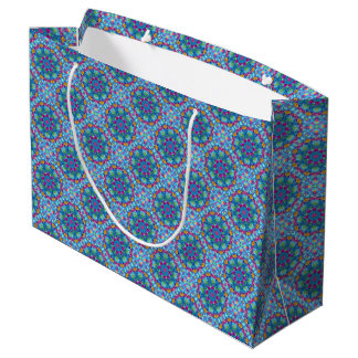 Hearts  Vintage Kaleidoscope Gift Bags