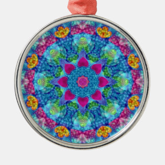 Hearts  Vintage Kaleidoscope   Ornaments