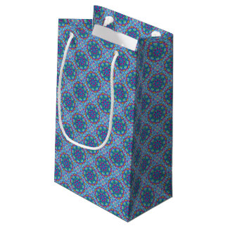 Hearts Vintage Kaleidoscope Small Gift Bag