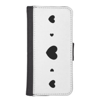 Hearts wallet/Phone case
