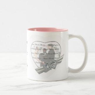 Hearts White Wedding Mug