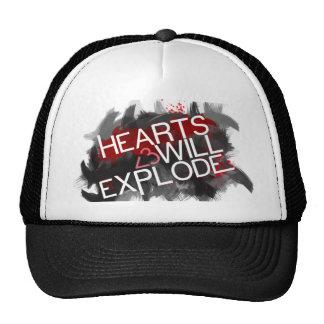 Hearts Will Explode Mesh Hats