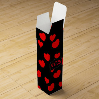 Hearts Wine Bottle Boxes