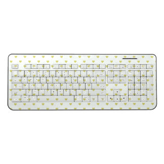 Hearts Wireless Keyboard