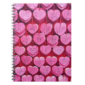 Hearts & Wishes Spiral Notebook