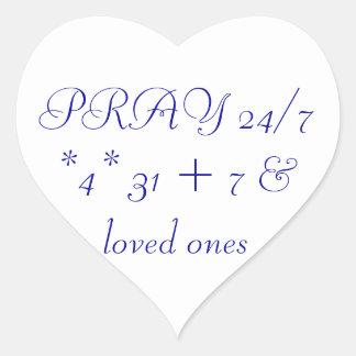 heartswithyou heart sticker