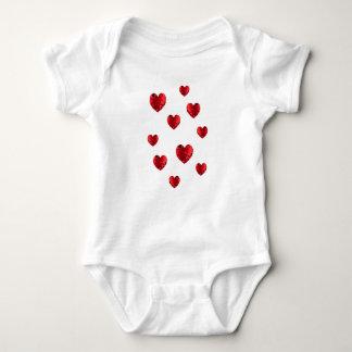 Hearty hearts heart baby baby bodysuit