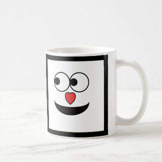 Hearty Nose Happy Face Coffee Mug