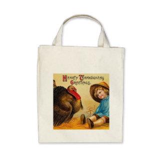Hearty Thanksgiving Greetings Bag