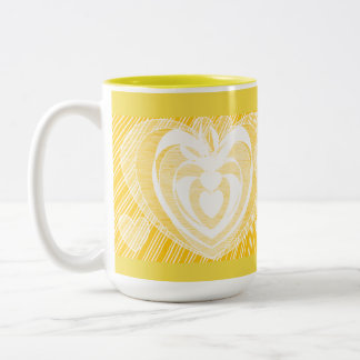 HeArty Two-Tone Coffee Mug