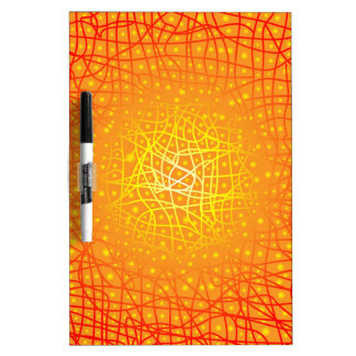 Heat Background Dry Erase Board