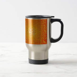 Heat Background Travel Mug
