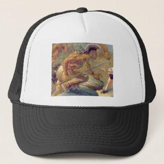 Heat of conflict trucker hat