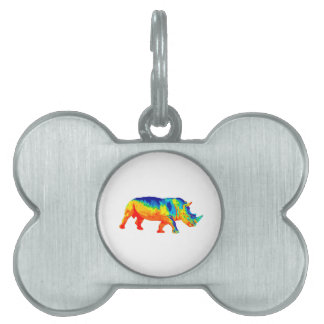 Heat Sensored Pet Name Tag