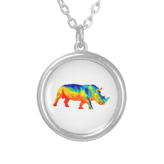 Heat Sensored Silver Plated Necklace