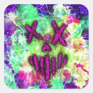 Heathen Designs Logo Square Sticker