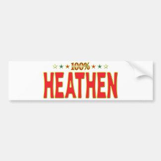 Heathen Star Tag Bumper Sticker