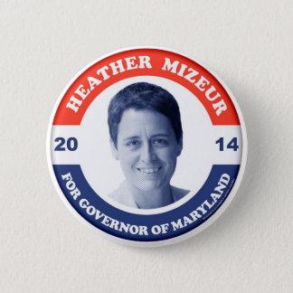 Heather Mizeur Retro Button