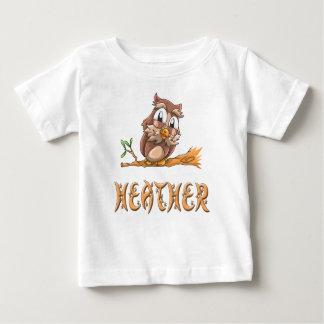 Heather Owl Baby T-Shirt
