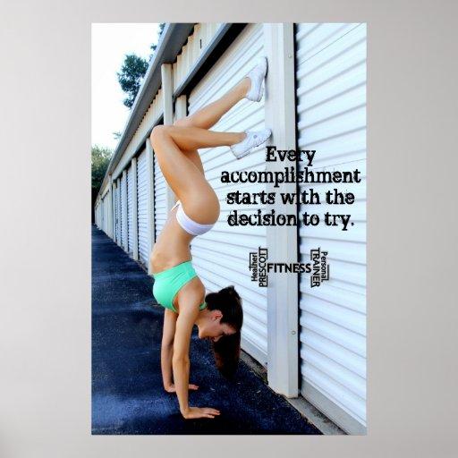Heather Prescott Fitness & Personal Trainer prints Posters